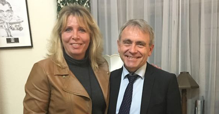 Claire Field meets Robert Goodwill, the Children's Minister